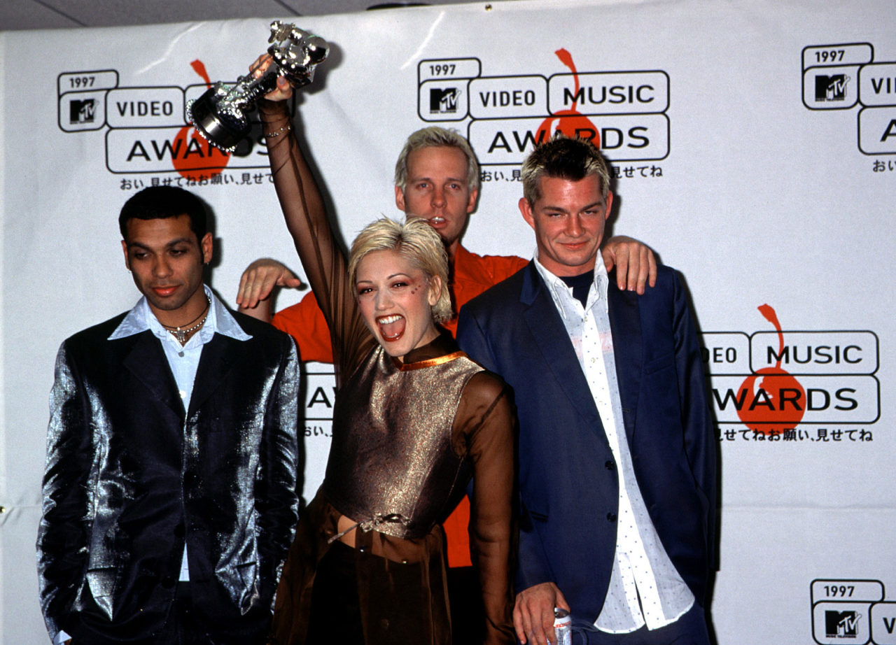 No Doubt attending the 1997 MTV Video Music Awards, NYC. 09/04/1997