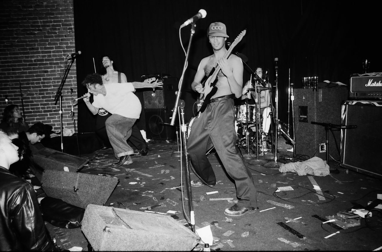 Rage Against the Machine at Club Lingerie December 12, 1991
