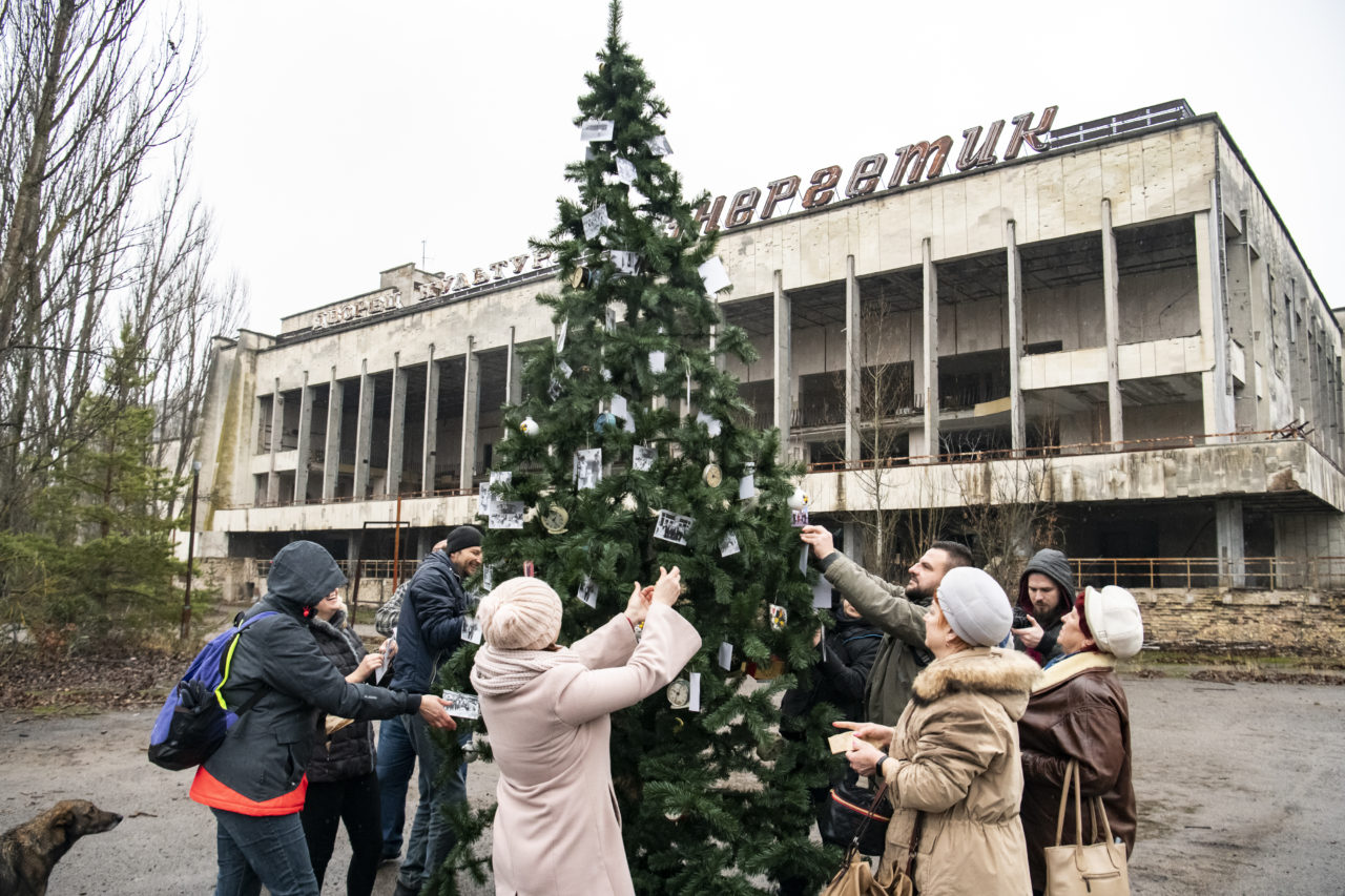 Christmas Tree Was Installed For The Firstly Since 1985 In Pripyat