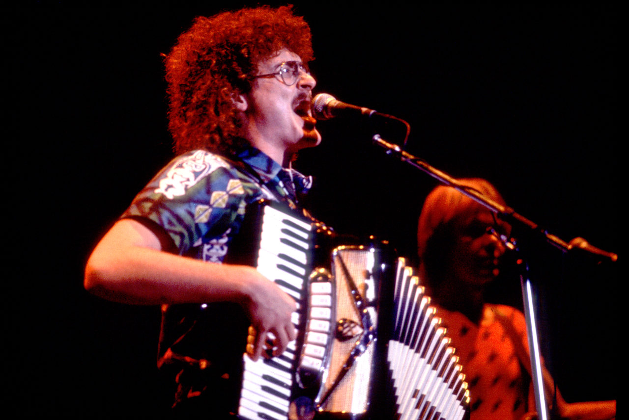 Weird Al Yankovic Onstage At The Park West