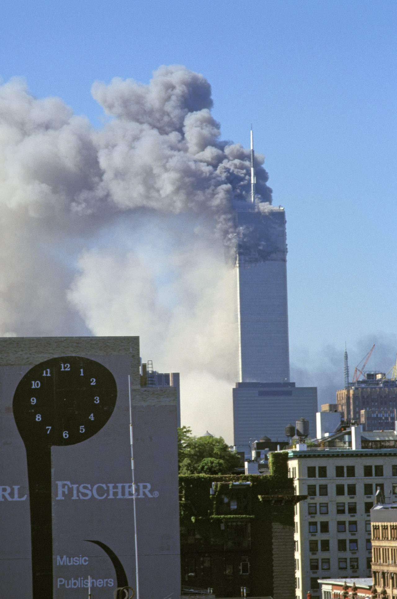 New York City, 9/11/01, World Trade Center Attack.