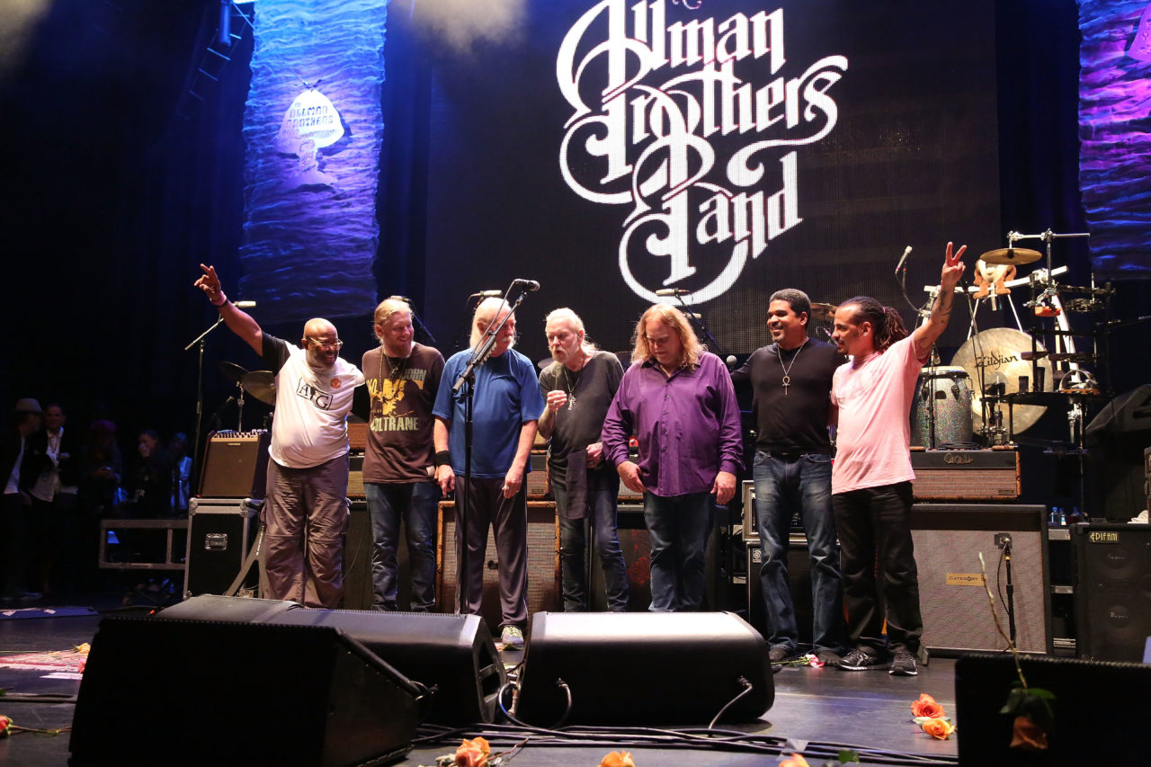 Allman Brothers Band final show