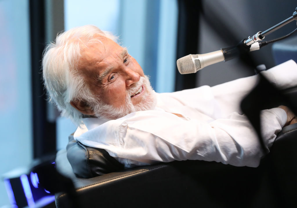 SiriusXM's 'Town Hall' With Kenny Rogers At SiriusXM's Music City Theatre in Nashville
