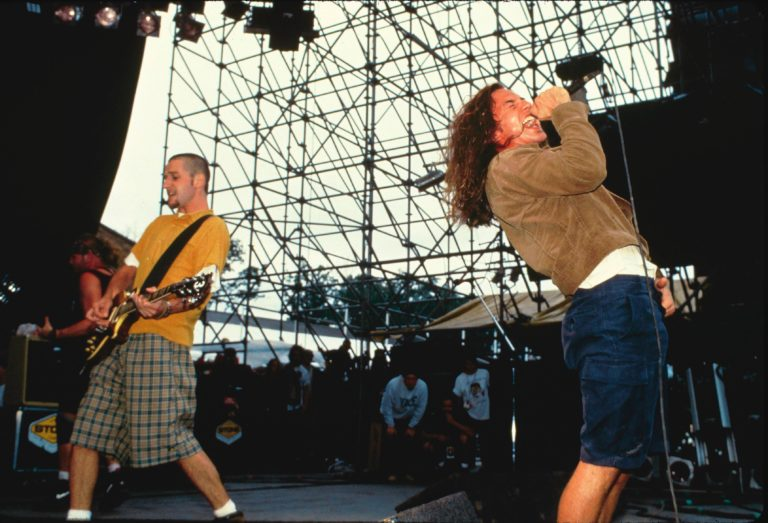 Photo of Eddie VEDDER and PEARL JAM and Stone GOSSARD