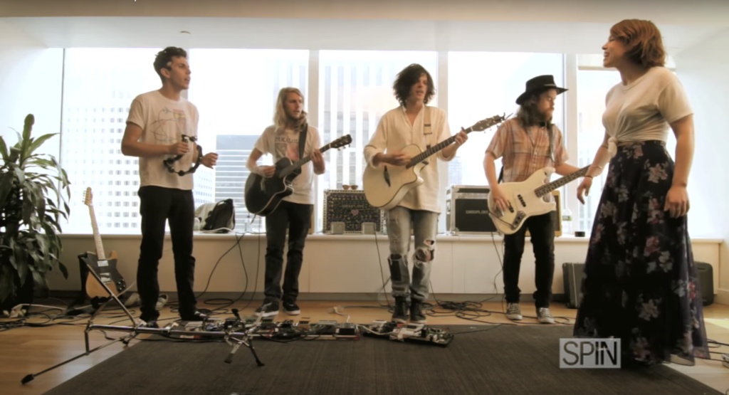 SPIN Sessions: Grouplove – Colours