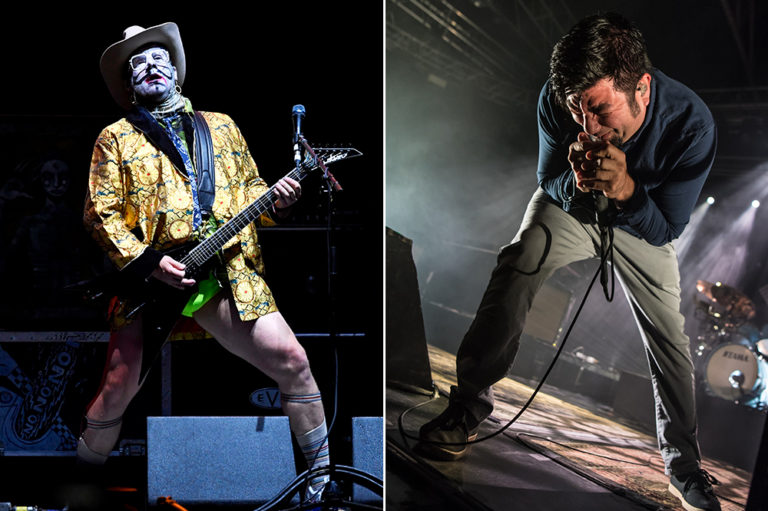 Wes Borland and Chino Moreno