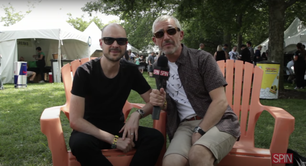 Lollapalooza 2014 Above & Beyond Q&A At The Toyota Soundwave Tent