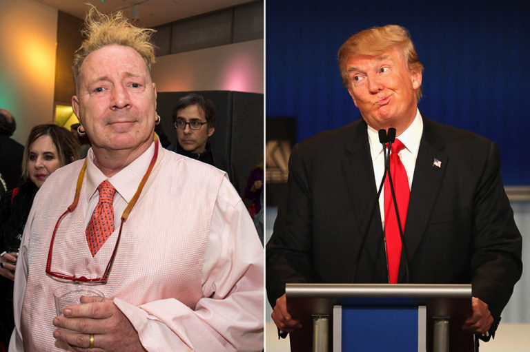 John Lydon Trump