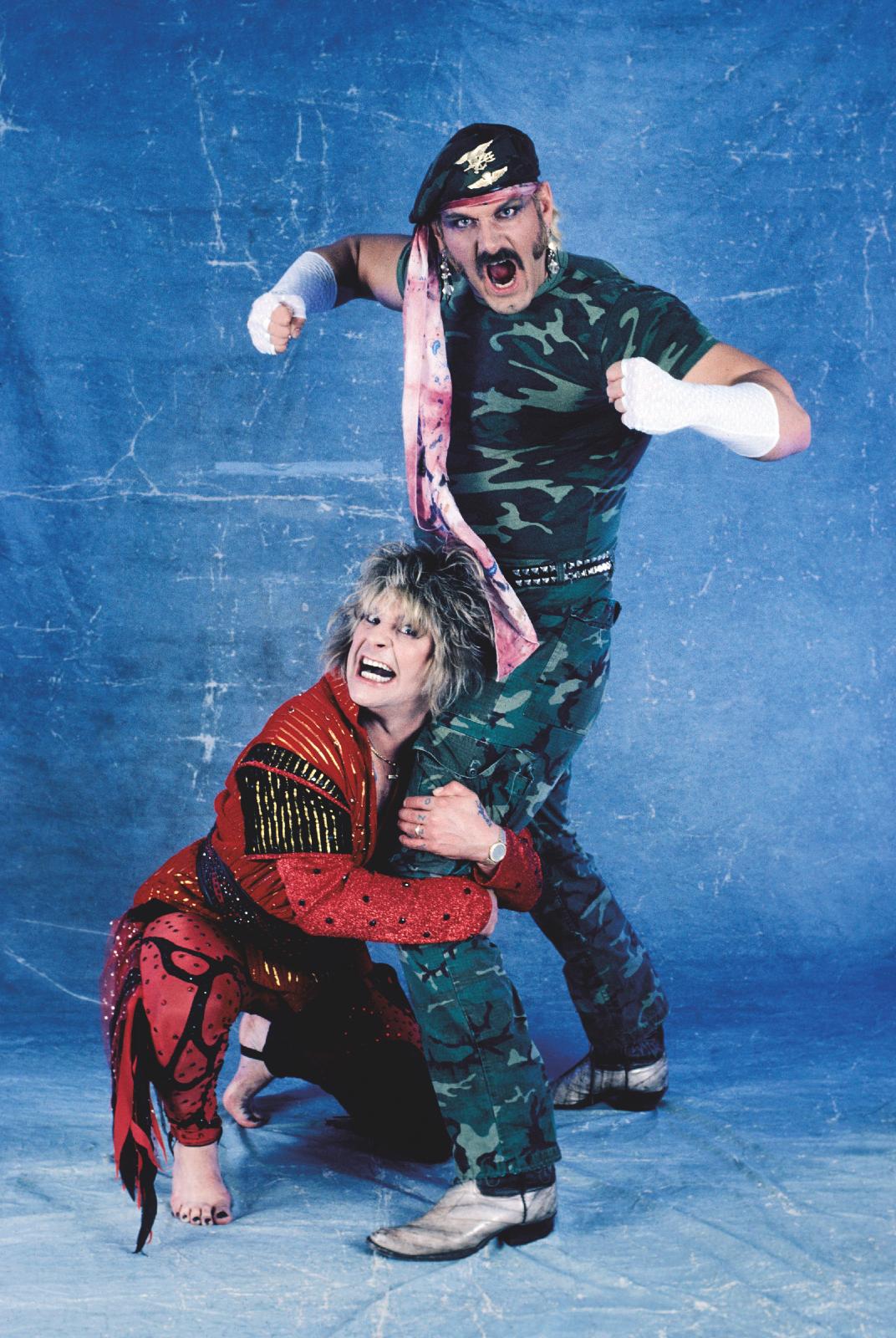 Ozzy Osbourne and Jesse Ventura