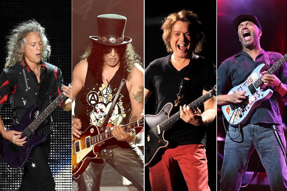 Slash, Kirk Hammett and Tom Morello Eulogize Eddie Van Halen During RRHOF Induction Ceremony