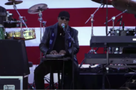 Stevie Wonder Live Debuts New Songs at Joe Biden Rally