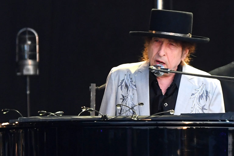 Bob Dylan Performa at Hyde Park - London