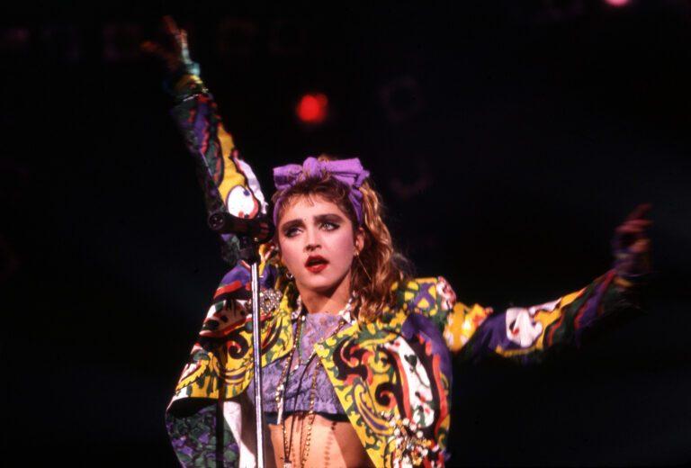 Madonna In Detroit, 1985