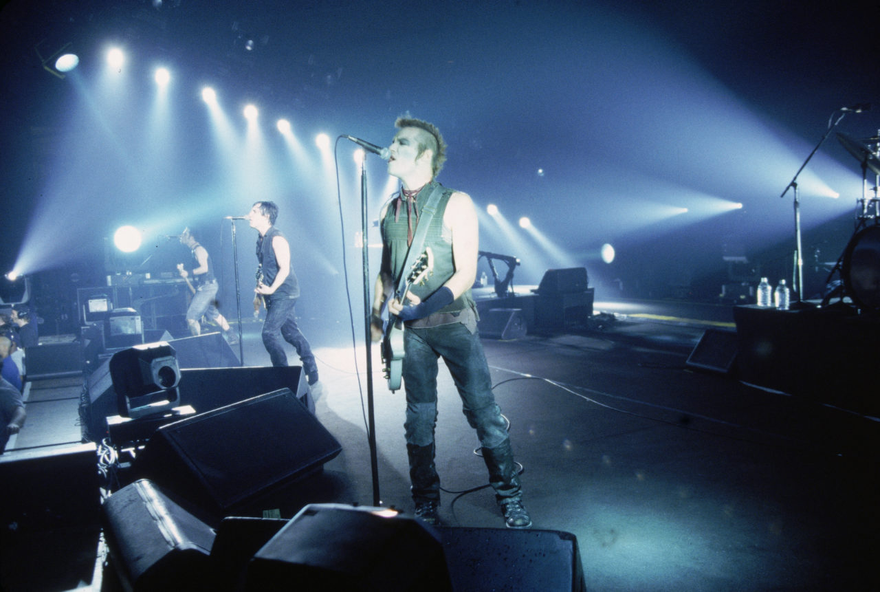 Nine Inch Nails Performs In Concert