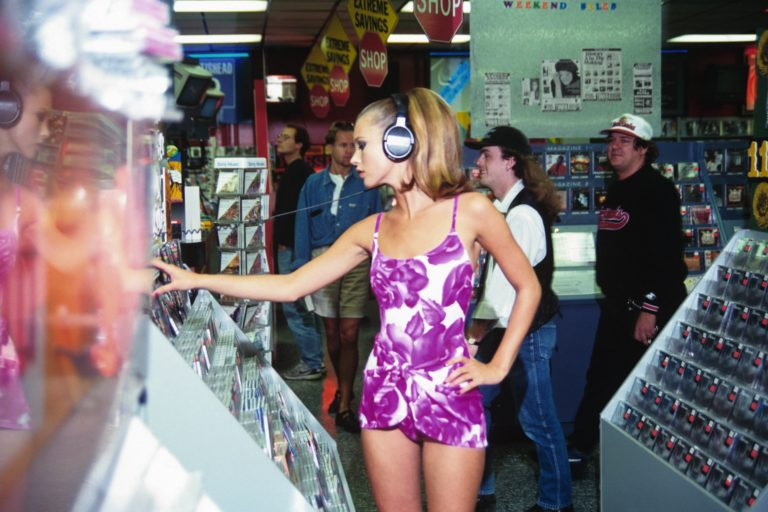 Kate Moss Record Store