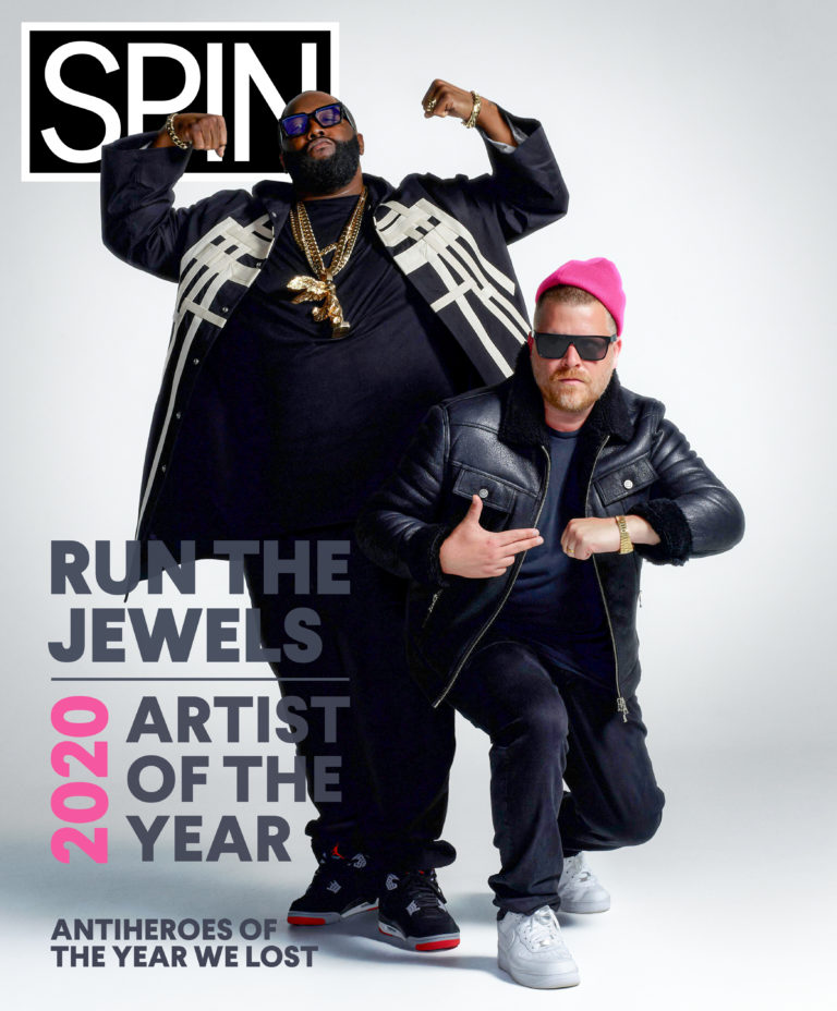 Run the Jewels December 2020 cover