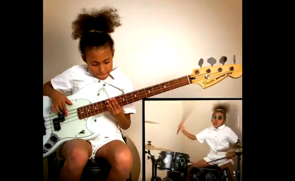 Meet the 10-year-old girl every rock star wants to collaborate with