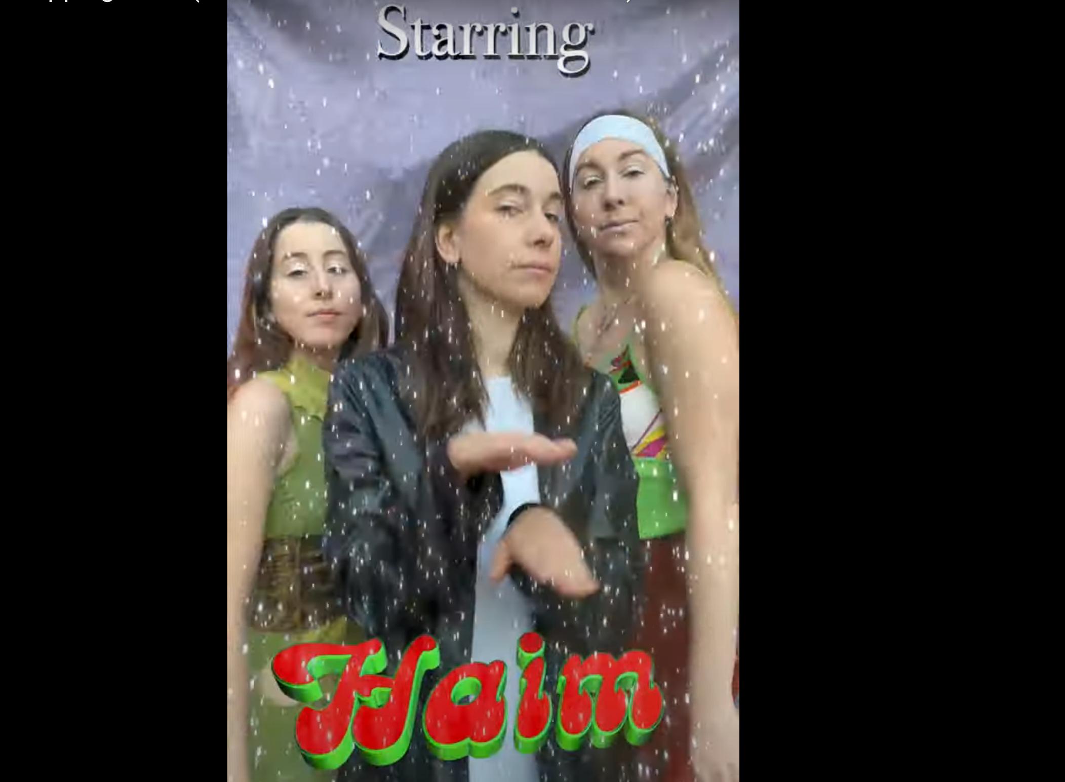 Haim Merry Christmas