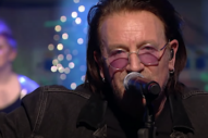 Watch Bono and the Edge Perform 'Christmas (Baby Please Come Home)'