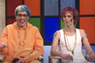 Watch Timothée Chalamet and Pete Davidson Play Clueless SoundCloud Rappers in <i>SNL</i> Sketch