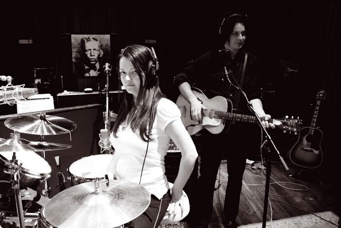 The White Stripes Icky Thump studio