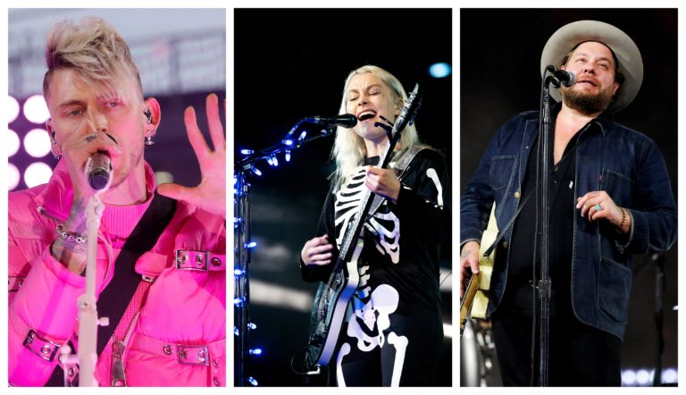 Machine Gun Kelly, Phoebe Bridgers, Nathaniel Rateliff