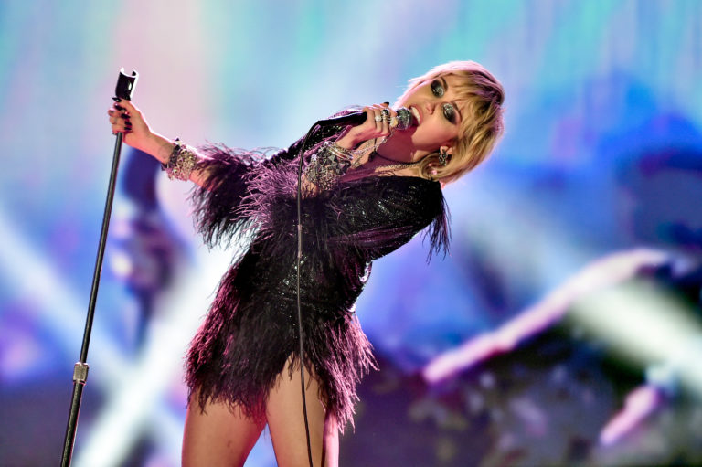 Miley Cyrus New Year's Eve 2020