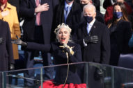 Lady Gaga Belts Out National Anthem at Biden Inauguration