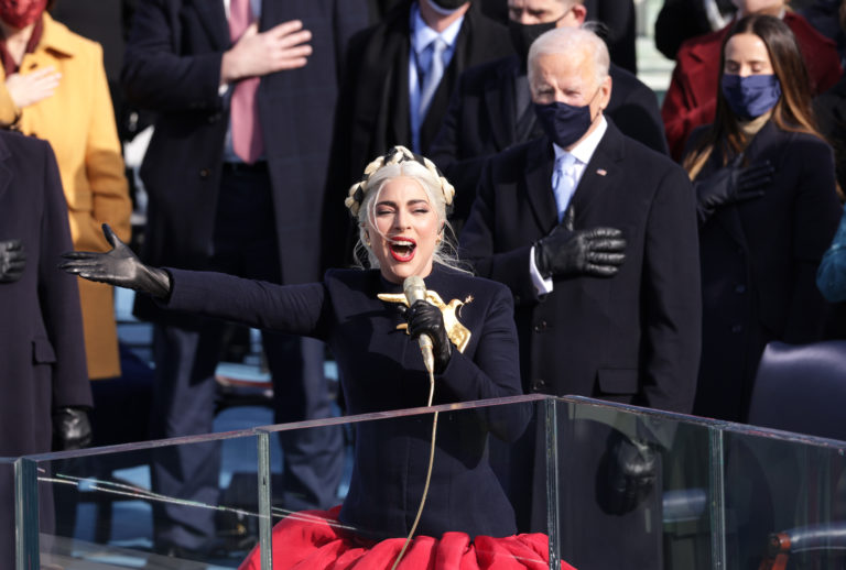 Lady Gaga inauguration