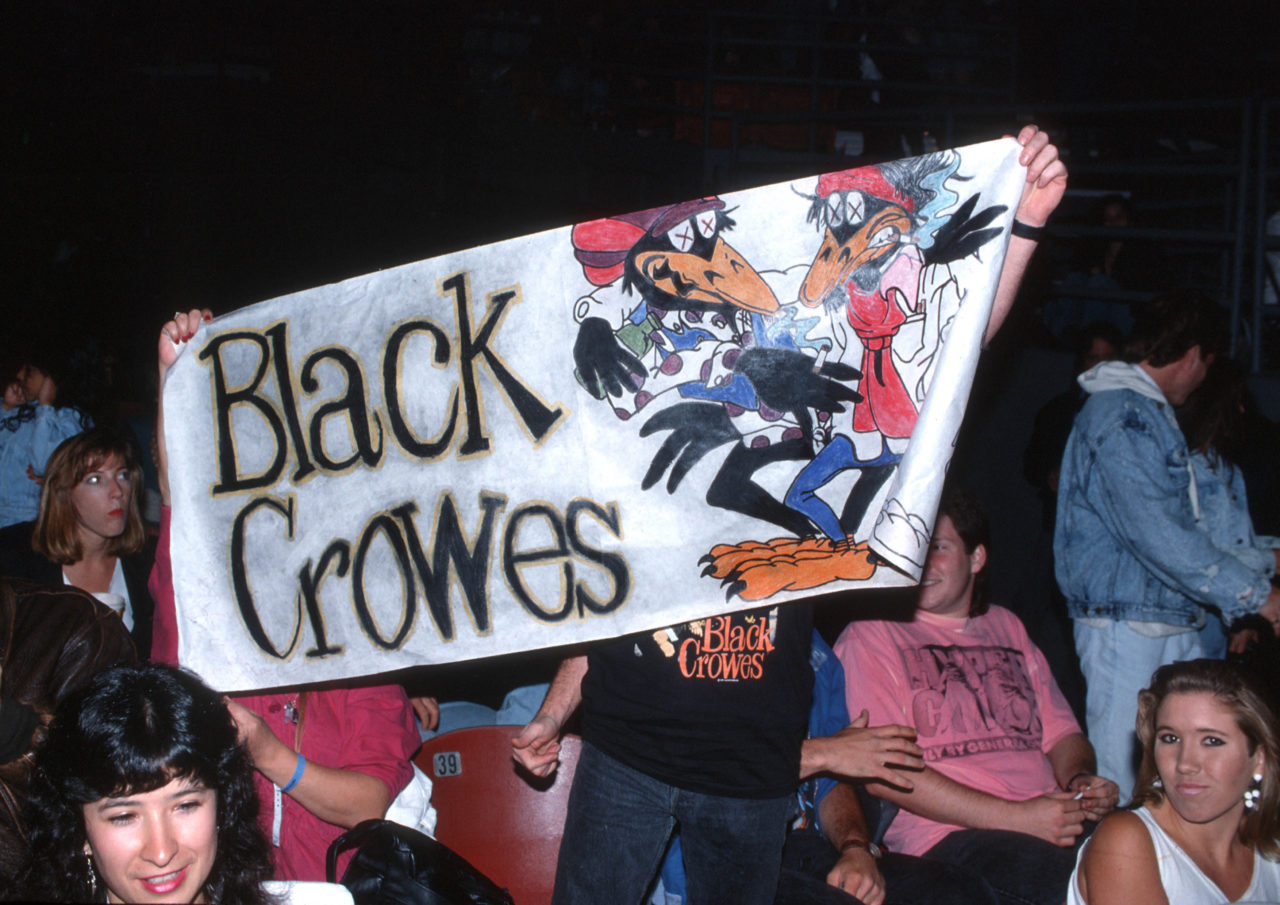 Black Crowes banner