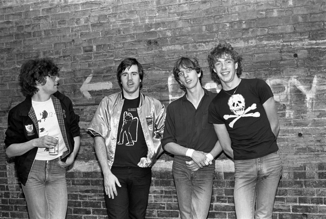 Photo of STIFF LITTLE FINGERS and Henry CLUNEY and Jake BURNS and Ali McMORDIE and Dolphin TAYLOR