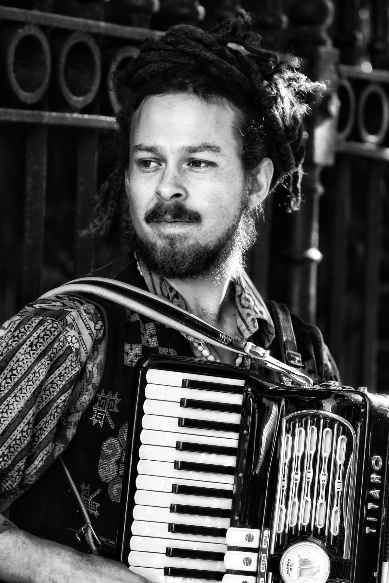 New Orleans musician Nathan Rivera
