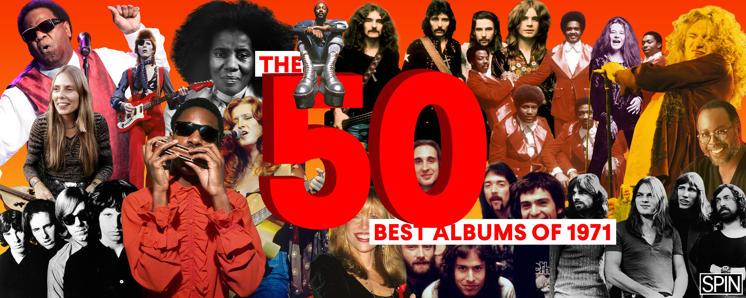 The 50 Best Albums of 1971