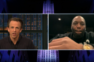 Killer Mike Talks U.S. Capitol Raid and Georgia Election With Seth Meyers