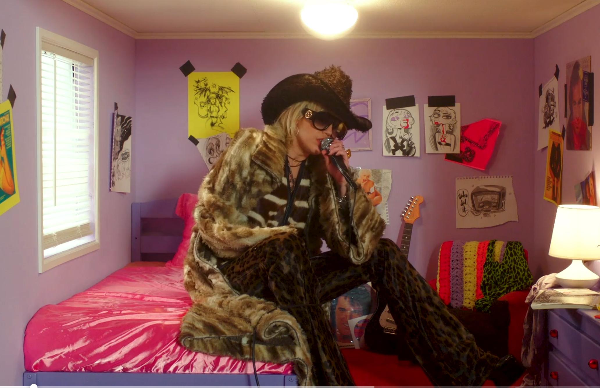 Miley Cyrus NPR concert