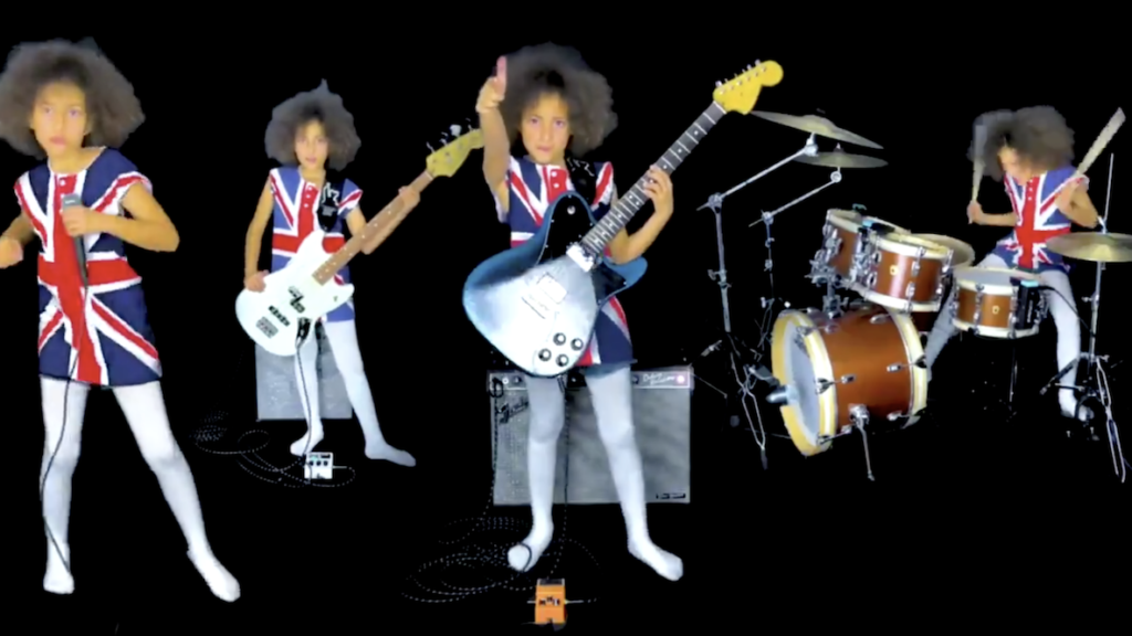 Watch Nandi Bushell Cover Blur's 'Song 2' in a Union Jack Outfit