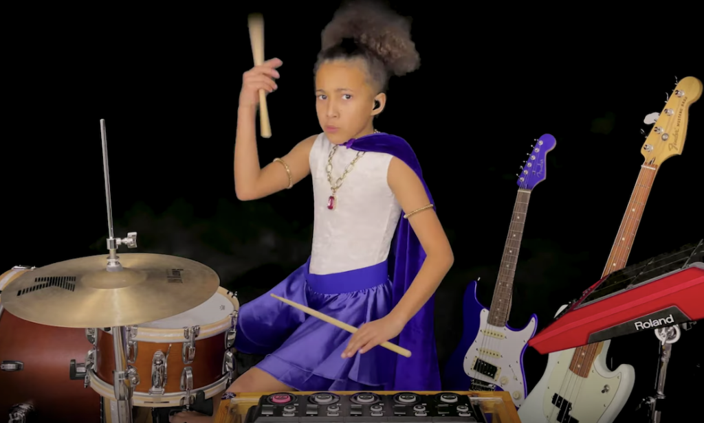 Nandi Bushell's latest rock cover might be her most badass yet
