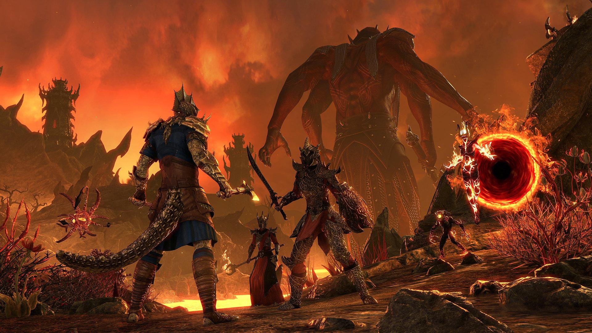 Elder Scrolls Online's Blackwood Chapter Sends Players Straight to Hell - Elder  Scrolls Online's Audio Director on Sending Gamers Straight to Hell (Or  Oblivion, At Least) SPIN
