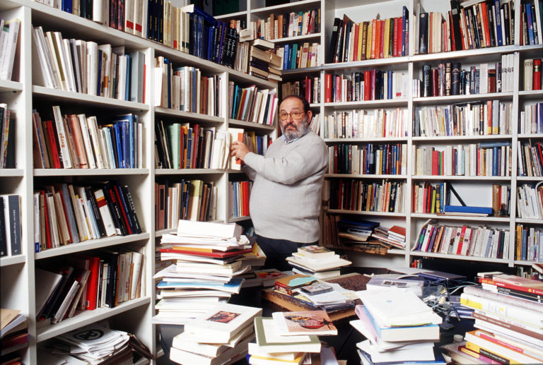 Umberto Eco Italian Semiologist Writer Philosopher Essayist And Professor
