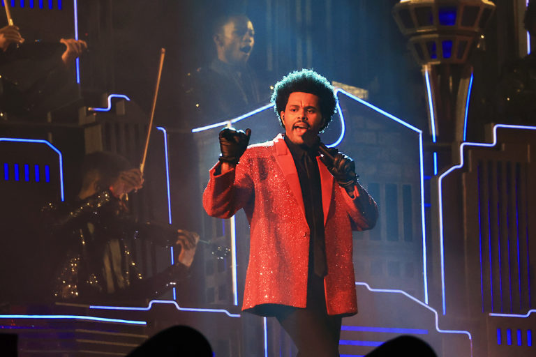 The Weeknd Pepsi Super Bowl LV Halftime Show