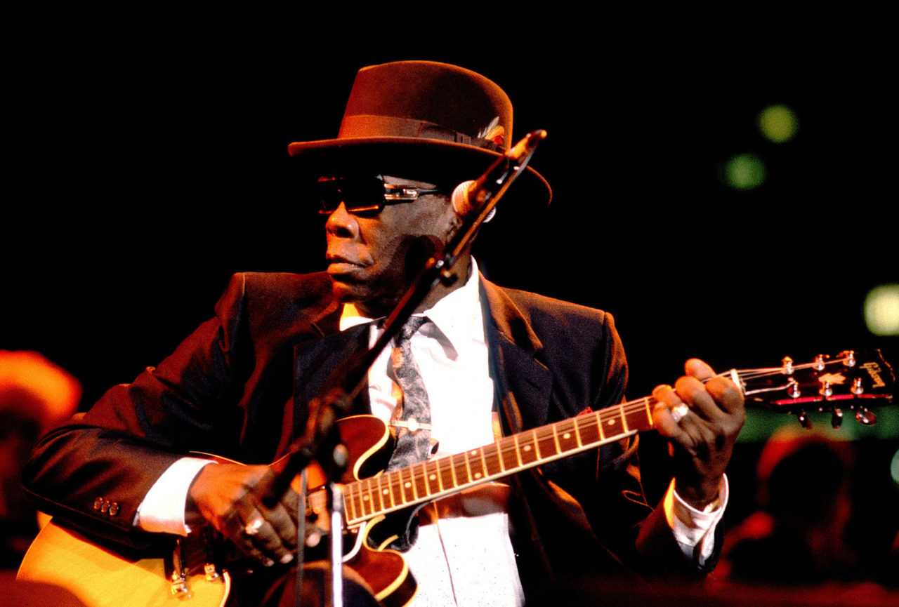 John Lee Hooker On Stage