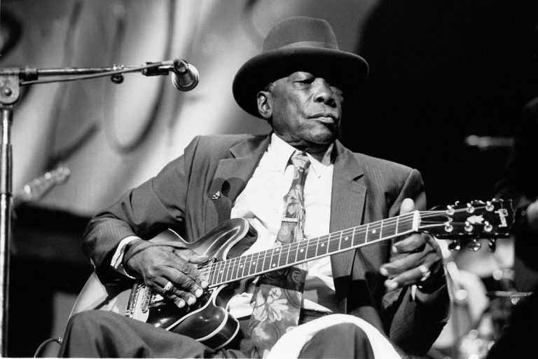 John Lee Hooker At Aire Crown Theater