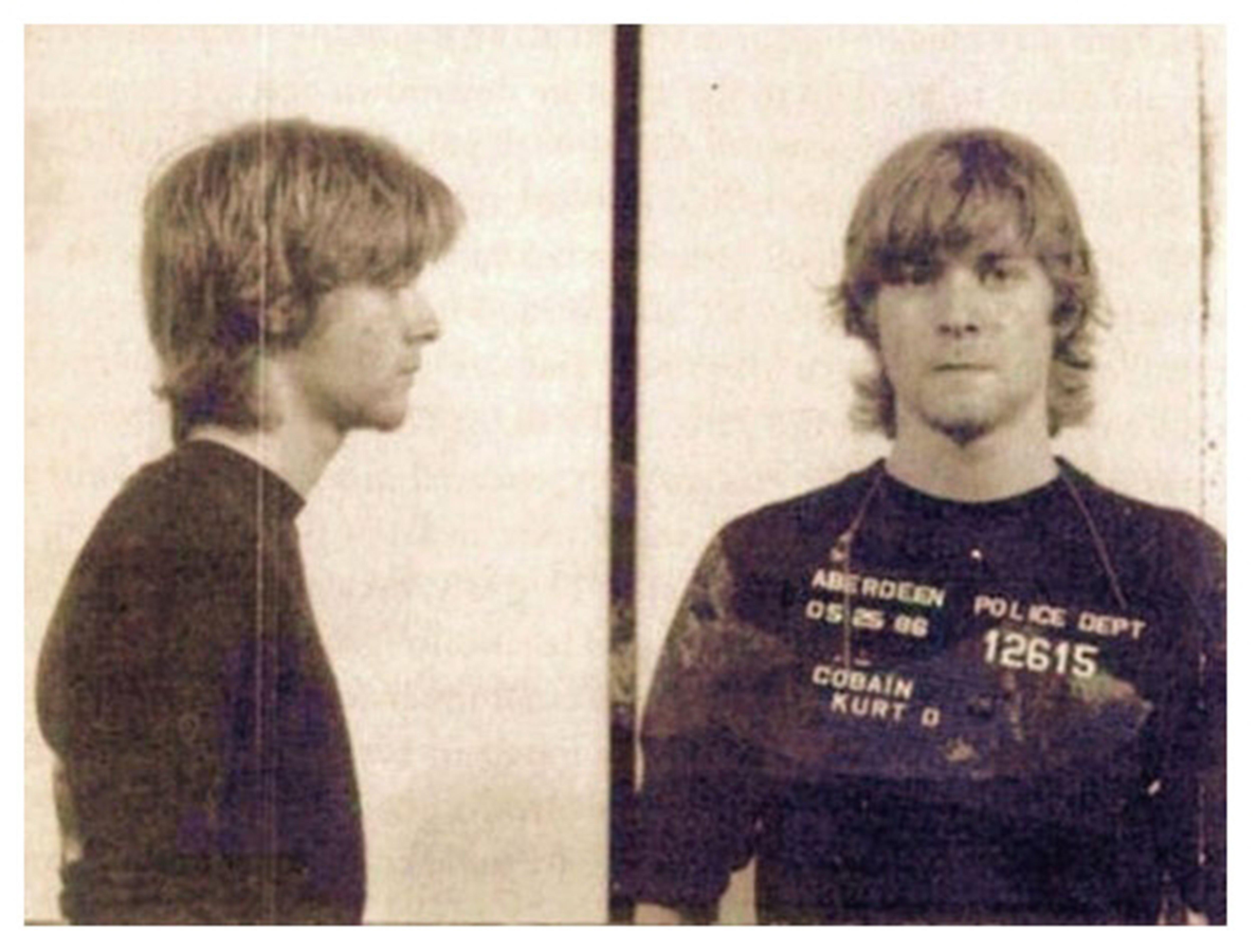 The night Kurt Cobain was thrown in jail for graffiti