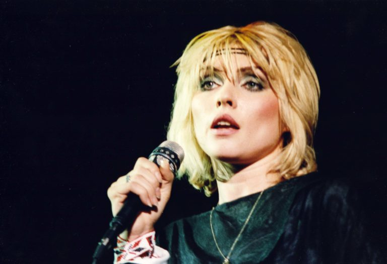Blondie Performs At The Hammersmith Odeon in London