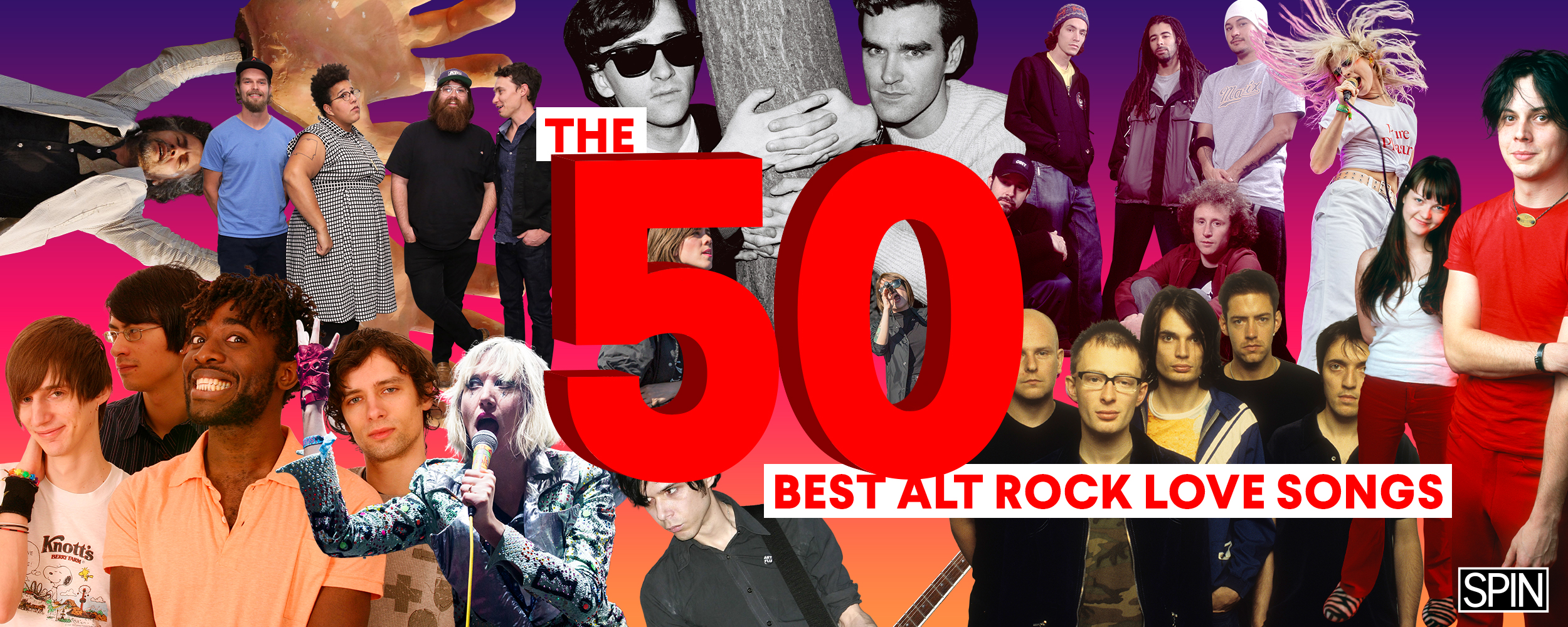 The 50 Best Alt-Rock Love Songs