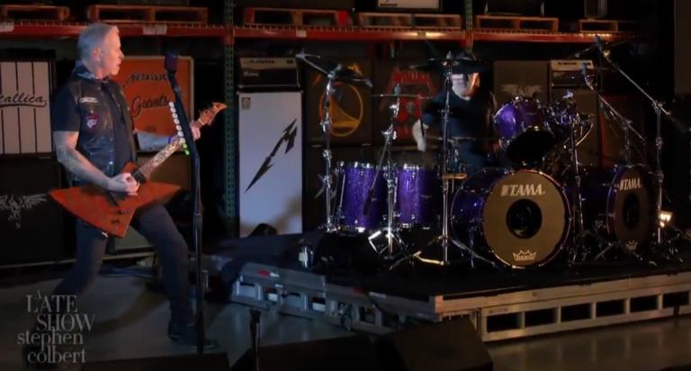 Metallica Colbert Super Edition