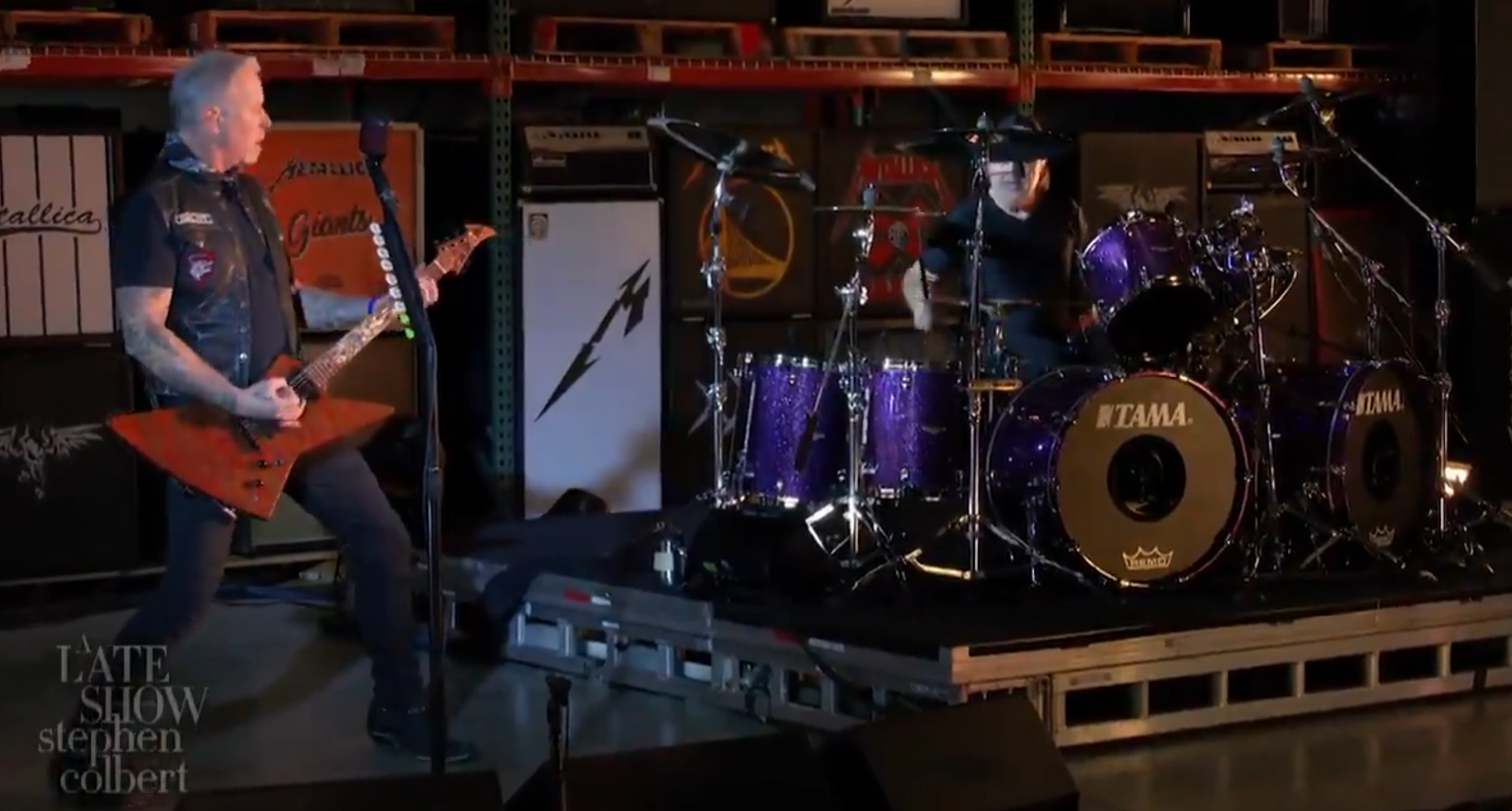 Metallica Colbert Super Edition