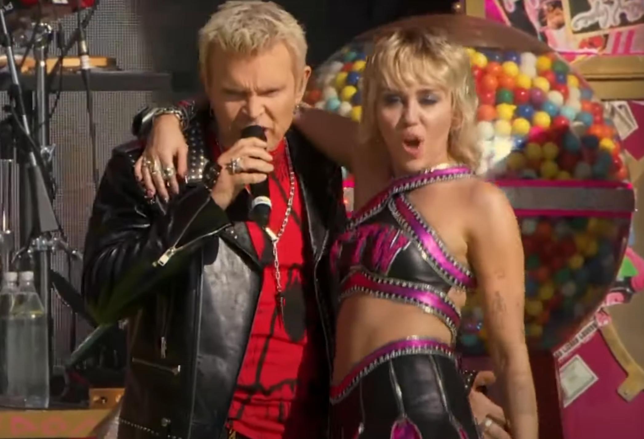 Billy Idol Miley Cyrus Super Bowl