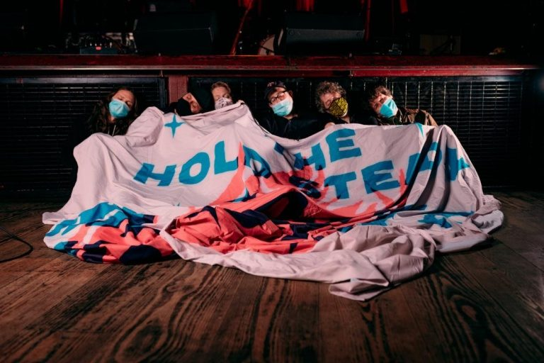 The Hold Steady banner