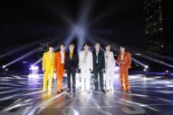 BTS Light Up Grammy Stage During Remote 'Dynamite' Performance